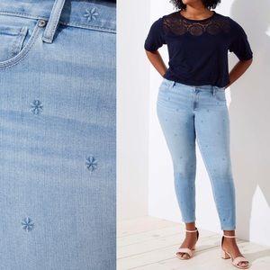 LOFT Modern Skinny Jeans in Daisy Wash